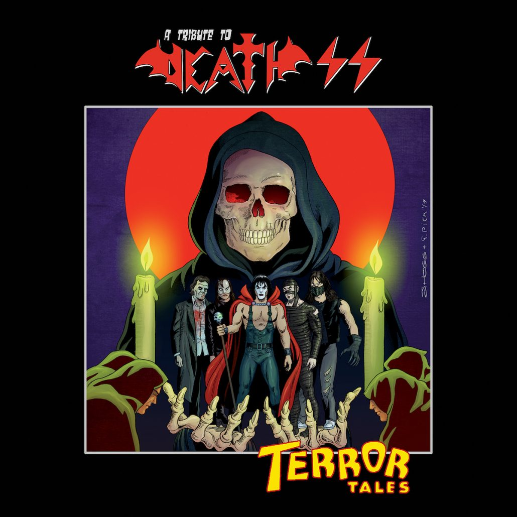 vvaa - terror tales - a tribute to death ss
